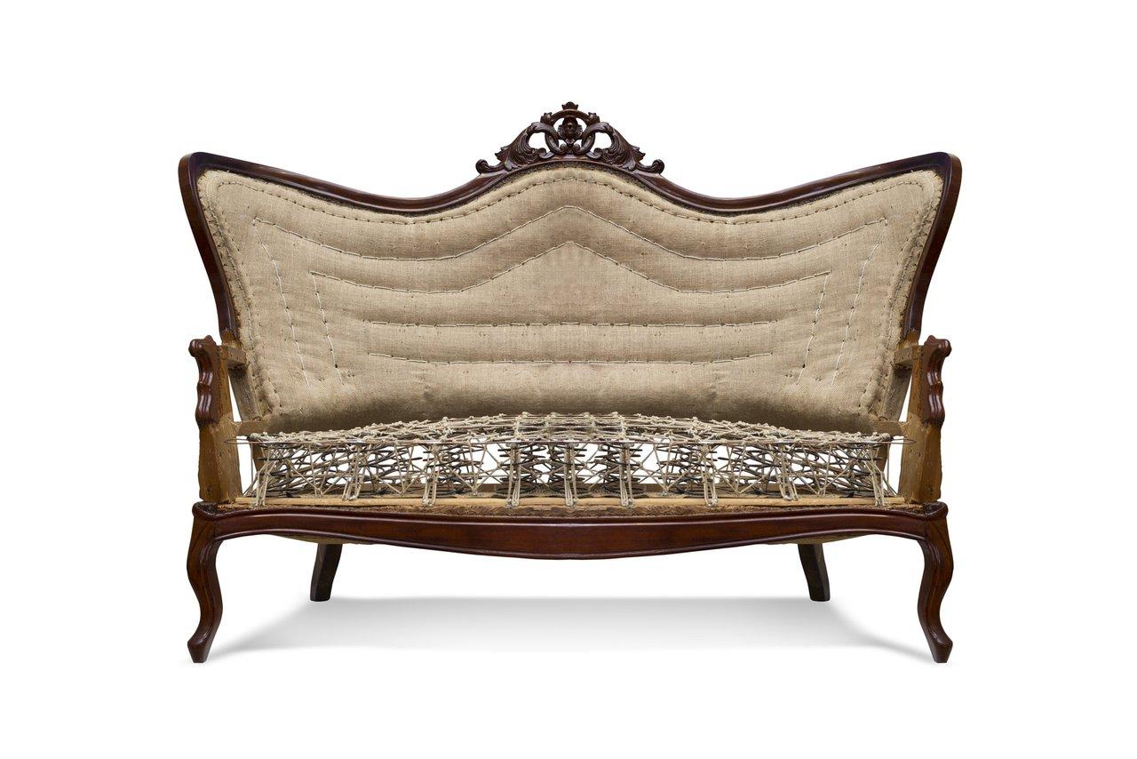 Neu polstern aus alten sitzm beln werden schmuckst cke Sofa aufpolstern